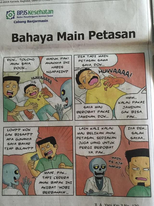 Bpjs Kesehatan Minta Maaf Terkait Iklan Dokter Tengkorak Health