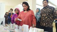 Deputi Bidang Pengawasan Obat tradisional, suplemen kesehatan dan kosmetik Maya Agustina Andarini. (Foto: Liputan6.com/Dian Kurniawan)