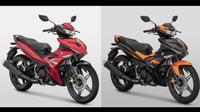Yamaha MX King hadir dengan warna baru, harga Rp 22,9 juta standar dan Rp 23,2 juta untuk edisi Movistar Livery. (Dok Yamaha)