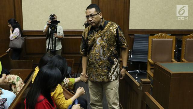 Foto Korupsi Pembangunan IPDN, Eks Pejabat Kemendagri Divonis 4 Tahun Bui