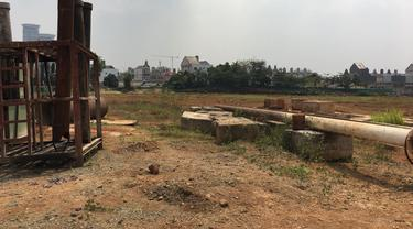 Foto pembangunan apartemen K2 Park.