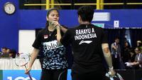 Ganda putri Indonesia Greysia Polii / Apriyani Rahayu. (Humas PP PBSI)