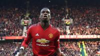 9. Paul Pogba (Manchester United) - £ 90 Juta (AFP/Paul Ellis)
