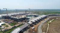 Proses pembangunan Bandara Kertajati, Majalengka, Jawa Barat. (Dok bandarakertajati.com)