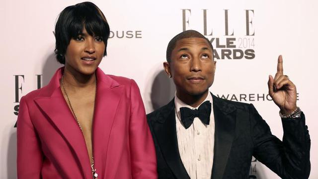 4b6e46d81d0 Intip Kemesraan Pharrell Williams dan Sang Istri di Depan Publik ...