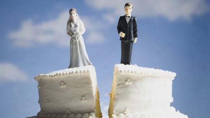 Ilustrasi perceraian. (Sumber Foto: mirror.co.uk)