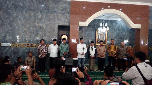 Jokowi Bakal Sertifikasi Tanah Wakaf Secara Nasional