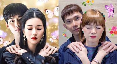 Potret Chika Jessica Parodikan Adegan Drama Korea