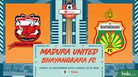 Shopee Liga 1 - Madura United Vs Bhayangkara FC (Bola.com/Adreanus Titus)