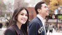Sandra Dewi menuliskan kalimat cinta kepada suaminya yang sedang berulang tahun (Instagram/@sandradewi88)