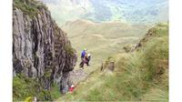 Proses penyelamatan pendaki yang hilang dengan bantuan aplikasi iPhone (Sumber: Daily Mail)