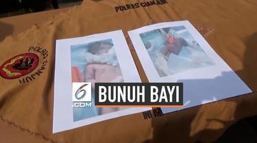 Polres Cianjur menangkap seorang perempuan yang tega membunuh bayinya sendiri yang baru berusia 7 bulan. Ia membunuh bayinya karena sang suami berselingkuh.
