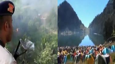 Jayapura Masih Mencekam Pascabentrok hingga Indahnya Ranu Kumbolo