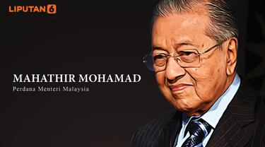 Banner Infografis Manuver Mahathir Mohamad. (Sumber Foto: AFP)