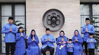 Foto keluarga Susilo Bambang Yudhoyono dan Ani Yudhoyono. (Instagram @aniyudhoyono)