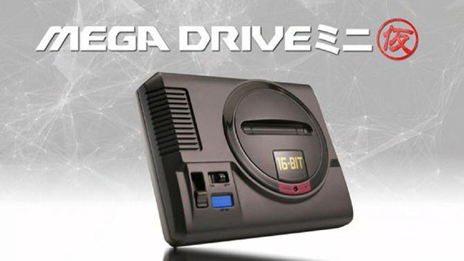 Sega akhirnya resmi mengumumkan konsol Mega Drive Mini. (Doc: Sega)