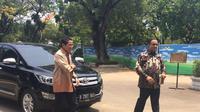 Sandiaga menegaskan Anies-Sandi tetap berkomitmen menghentikan reklamasi Jakarta. (Liputan6.com/Lizsa Egeham)