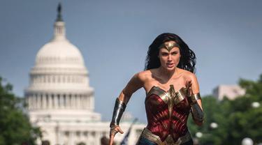Wonder Woman 1984.  (Twitter @GalGadot/ Warner Bros)