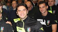 Daniele De Santis, wasit Liga Italia yang tewas ditusuk di rumahnya bersama pacarnya yang juga model. (Dok. aia.figc.it)
