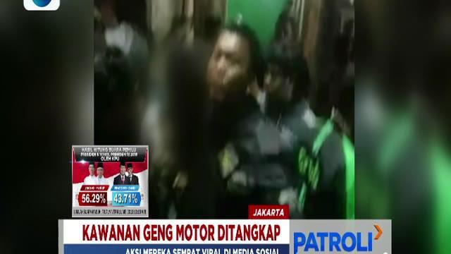 Aksi kawanan geng motor ini awalnya dipicu dari saling ejek anggota geng motor di media sosial.