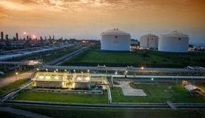 Plant Site PT Perta Arun Gas (PAG) di Lhokseumawe, Aceh. Dok PAG