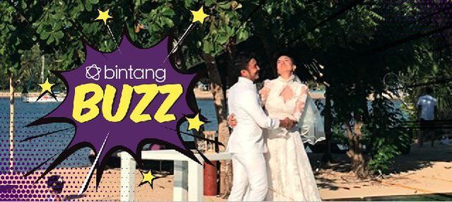 Kabar Bahagia, Dimas Anggara dan Nadine Chandrawinata resmi menikah di Lombok