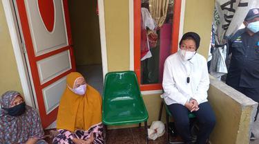 Menteri Sosial (Mensos) Tri Rismaharini atau Risma Sidak ke Tangerang.