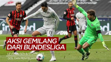 Berita Video Melihat Gol Spektakuler dari Pemain Bayer Leverkusen, dan Penyelamatan Gemilang dari Kiper VfB Stuttgart
