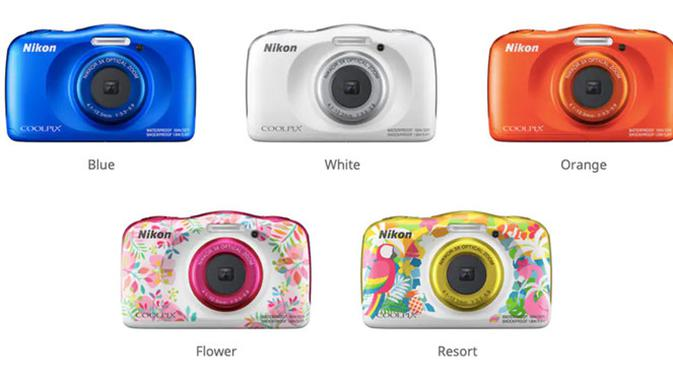 Nikon Coolpix W150. Dok: ndtv.com