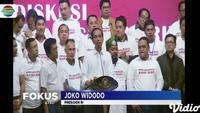Jokowi dalam sambutannya menyatakan, ke depan bangsa Indonesia membutuhkan pemimpin yang memiliki karakter kuat di dalam mengeksekusi program.