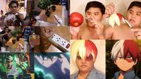 6 Cosplay Low Budget Karakter My Hero Academia Ini Kreatif Sekaligus Kocak (sumber: FB/lowcostcosplay)