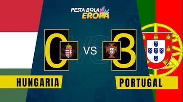 Berita video motion grafis laga Grup F Euro 2020, Timnas Portugal berhail kalahkan Hungaria, Selasa (15/6/2021) WIB.