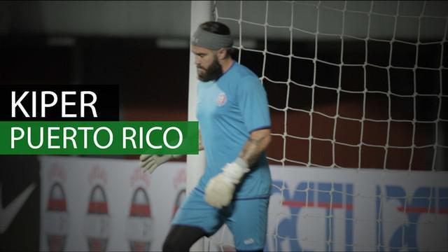 Berita video kiper besar Puerto Rico yang akan menghadang serangan Timnas Indonesia dalam laga uji coba yang digelar di Stadion Maguwoharjo.