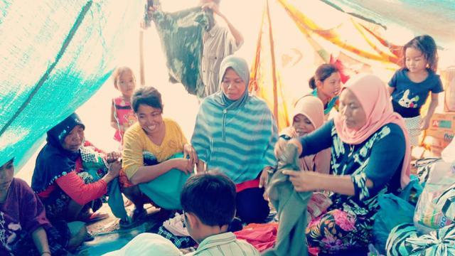 Sekolah Darurat untuk Anak Korban Gempa di Lombok Segera Disiapkan