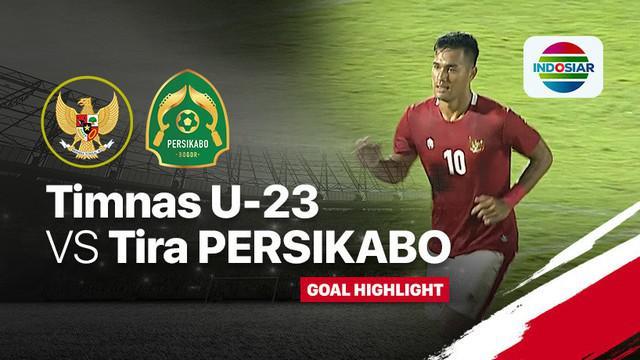 Berita video melihat kembali dua gol kemenangan Timnas Indonesia di laga ujicoba melawan Tira Persikabo yang dilaksanakan pada Jumat
