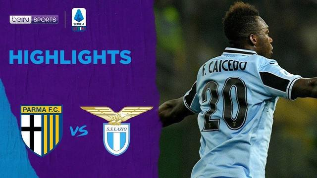 Berita Video Highlights Serie A, Lazio Lanjutkan Tren Positif Setelah Kalahkan Parma 1-0