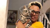 Uya Kuya bersama kucing (Instagram/king_uyakuya)