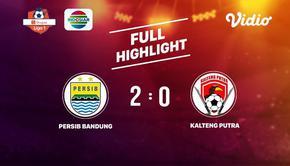 Laga lanjutan Shopee Liga 1, Persib Bandung VS Kalteng Putra berakhir  2-0 #shopeeliga1 #PS Barito Putra #Bali United