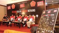 Pemerintah bersama Torabika memprakarsai Deklarasi 'Berani Kalah Berani Menang' untuk Piala Jendral Sudirman.