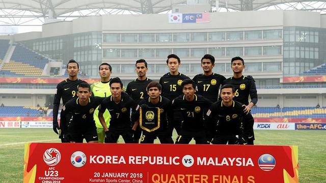 Malaysia Incar Tiket Cabang Sepak Bola Olimpiade  Asian