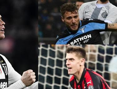Top Scorer Serie A pekan ke-31