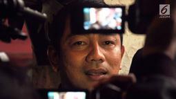 Wali Kota Semarang, Hendrar Prihadi memberi keterangan terkait jalan tol, Semarang (4/2). Polemik yang beredar perihal pernyataannya memang pengantar jelang debat kedua pilpres 17 Februari 2019, yang membahas terkait infrastruktur. (Liputan6.com/Gholib)