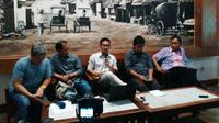 Diskusi Forum Demokrasi Digital tentang Darurat Revisi UU ITE. Foto: Liputan6.com/Agustinus Mario Damar