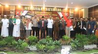 Deklarasi damai para tokoh agama dan pimpinan daerah pasca pemilu 2019 di Kota Malang (istimewa)