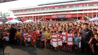 PB Djarum tengah membuka audisi umum beasiswa bulutangkis, di Purwokerto, Jawa Tengah, sejak Sabtu (21/7/2018) pagi.