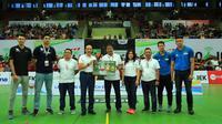 PT Bank Rakyat Indonesia (Persero) Tbk meluncurkan Kartu Kredit BRI Touch Edisi Asian Games 2018. (Dok BRI)