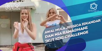 Cerita pertama kali Jessica Iskandar dan Nia Ramadhani ikut Kiki Challenge.