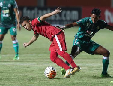 Timnas Indonesia U-19 Imbang Lawan PSS Sleman