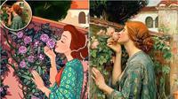 Lukisan Mirip Tokoh Disney. (Sumber: brainberries)