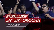 Berita video wawancara ekslusif bersama mantan pemain Paris Saint Germain, Jay Jay Okocha.